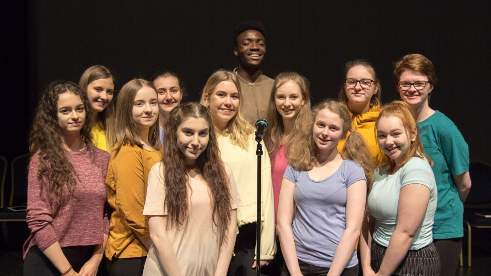 Loughborough College live radio play reaches for the stars in anniversary year