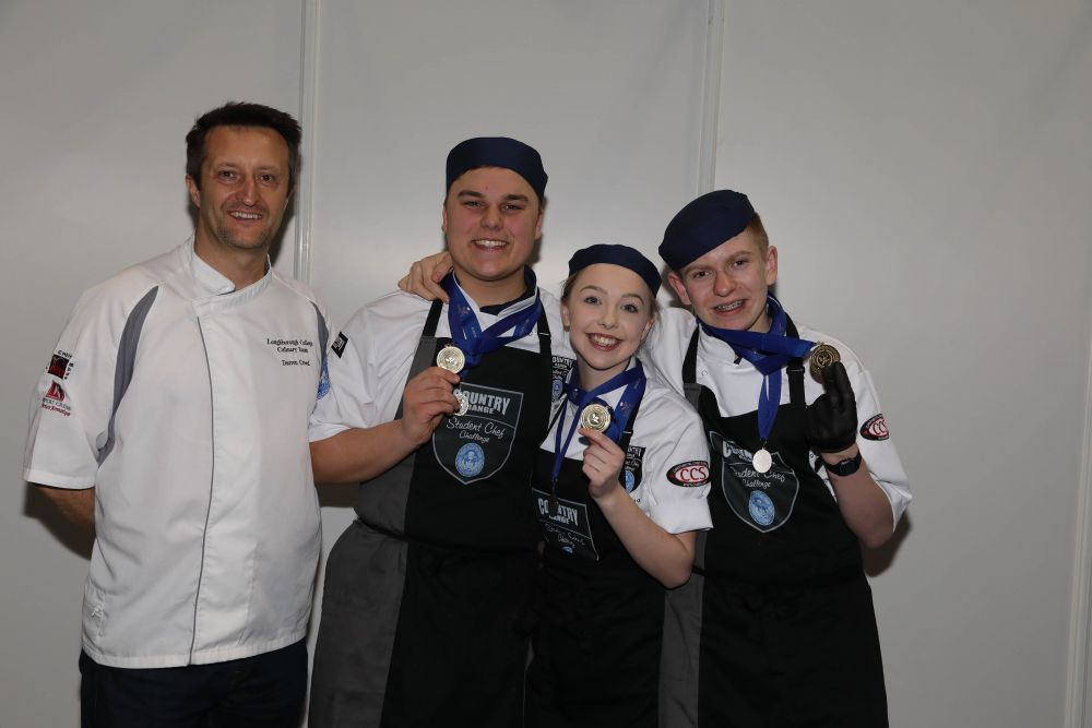 Gold for Loughborough College chefs at prestigious national culinary competition final