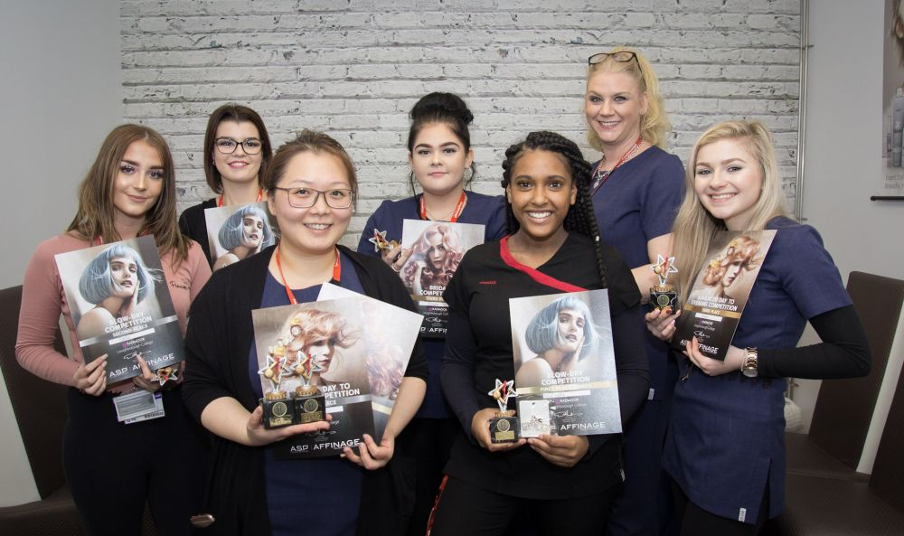 Winning hair and beauty puts Loughborough College students in line for big prize