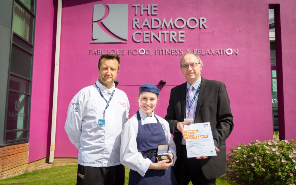 Loughborough College chef presented with coveted Medal for Excellence