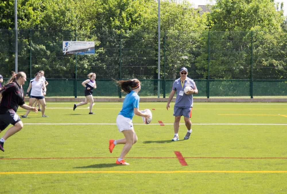 Top England rugby coaches join'Outstanding' Loughborough College for national sport apprenticeship event
