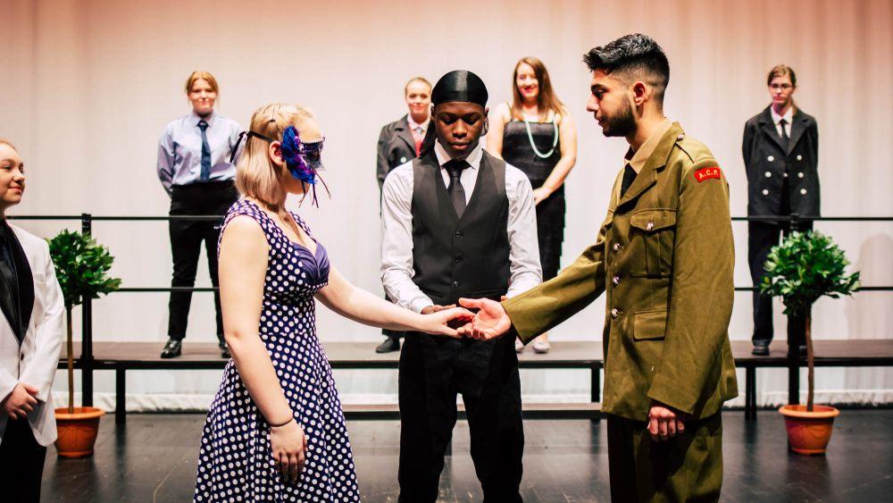 Twentieth century Much Ado delights Loughborough College theatre audience