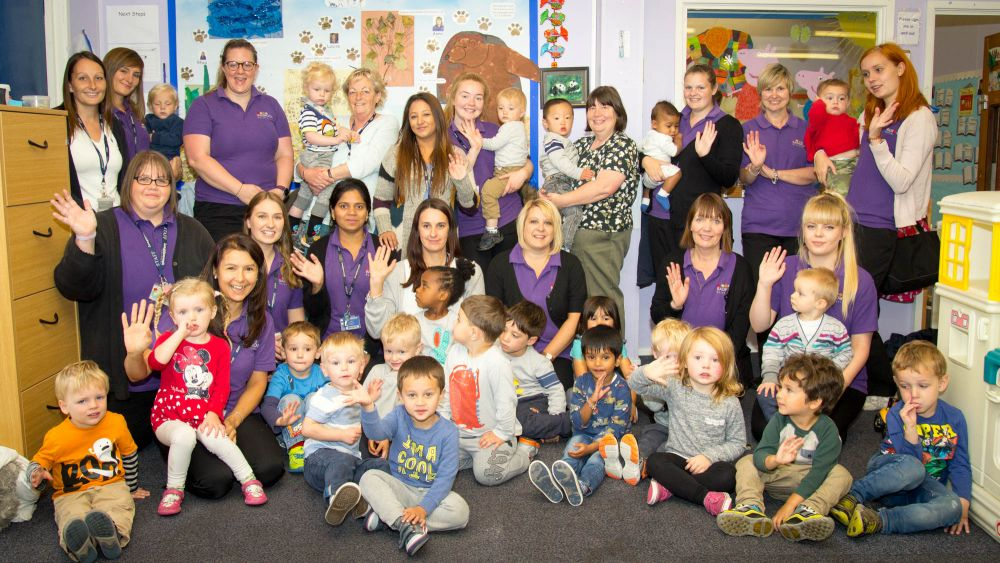 Radmoor Day Nursery at Loughborough College celebrates major report