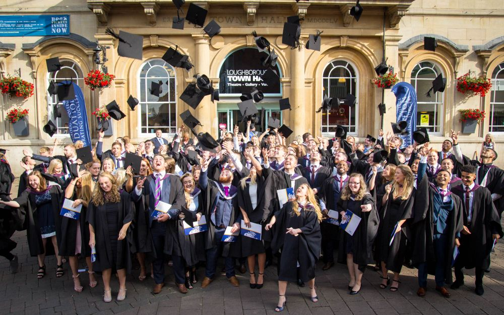 Hats off to 2017 Loughborough College graduates