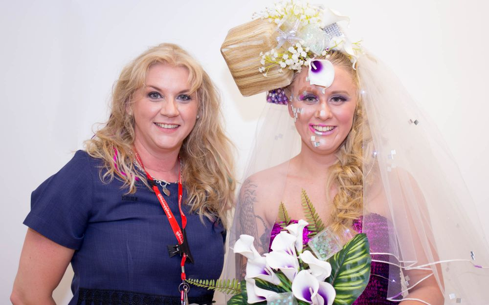 National competition gold winner features in Loughborough College creative hair showcase