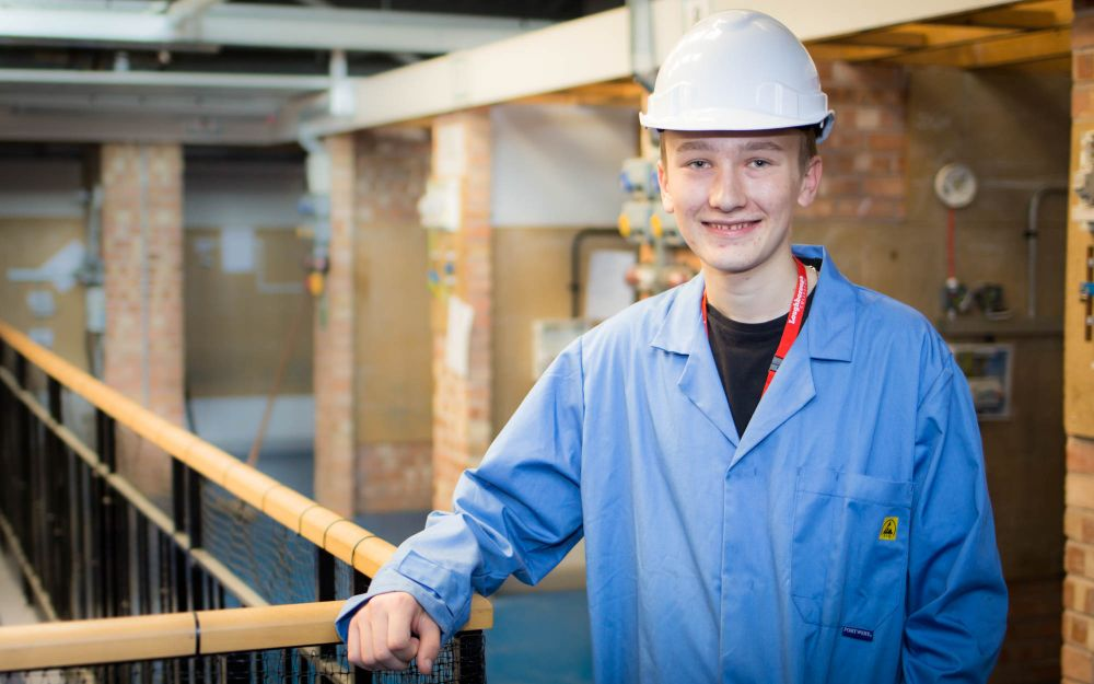 Royal Navy engineer success sees ambition become reality for Loughborough College student