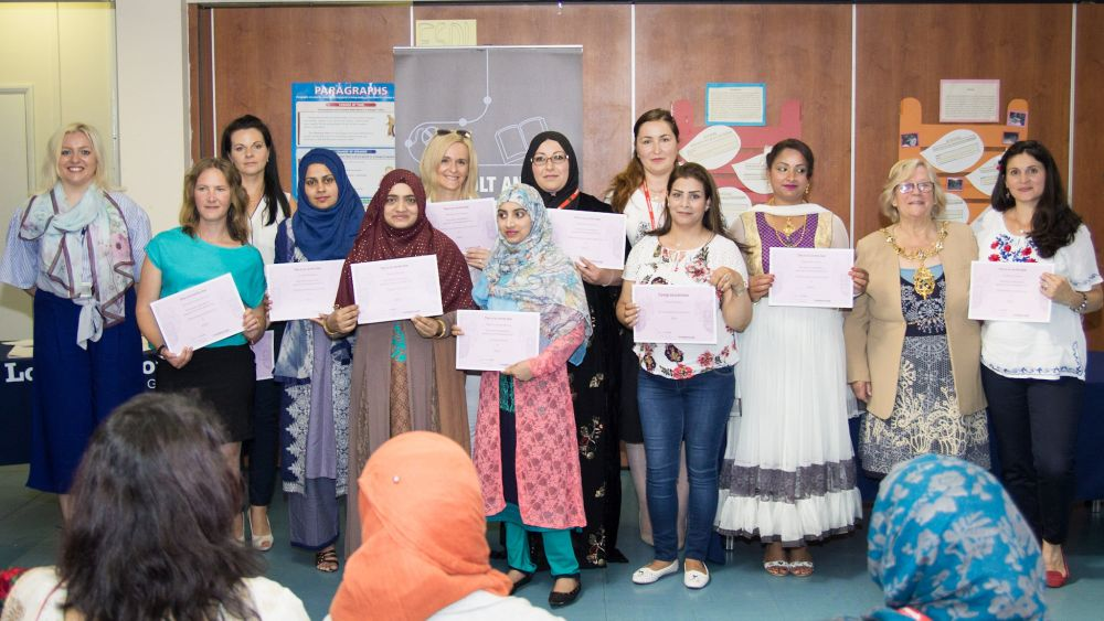 Loughborough College celebrates learning at town community centre