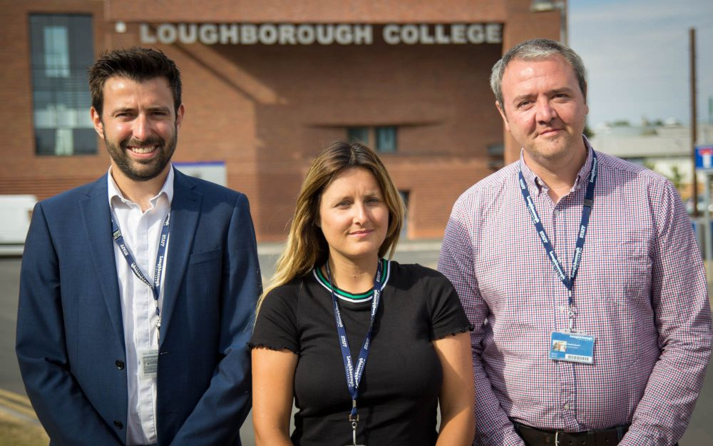 Loughborough College helps students find more than 50,000 hours of work experience in year
