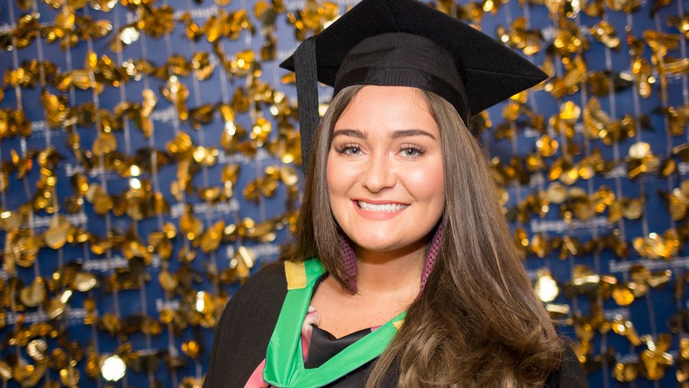 Loughborough College graduation makes it a double award winning year for Emma