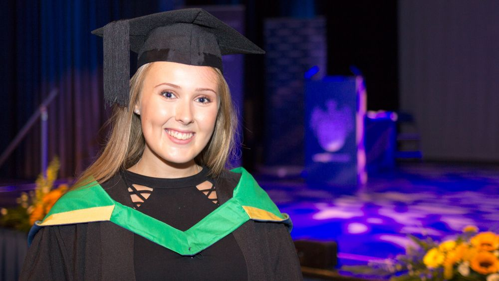 Degree at Loughborough College helps Courtney become roaring success