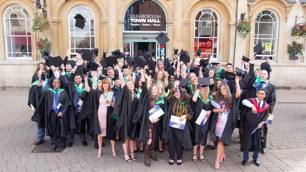 Hats off to 2018 Loughborough College graduates
