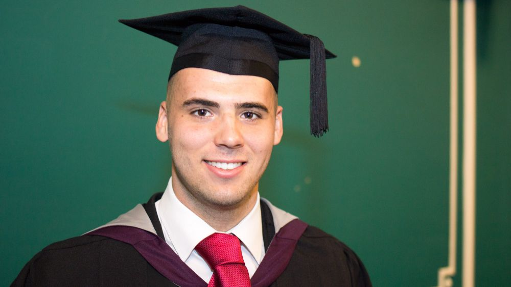 Loughborough College graduate competed at Commonwealth Games during final degree year