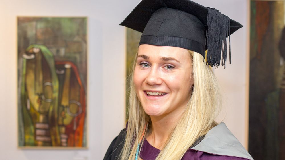 World cup, Olympic and Commonwealth rugby player Megan Jones graduates from Loughborough College