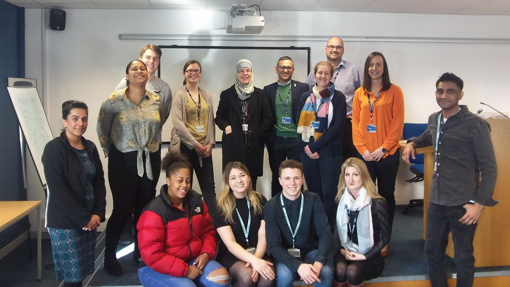 Loughborough College students create inspirational and fundraising International Women's Day
