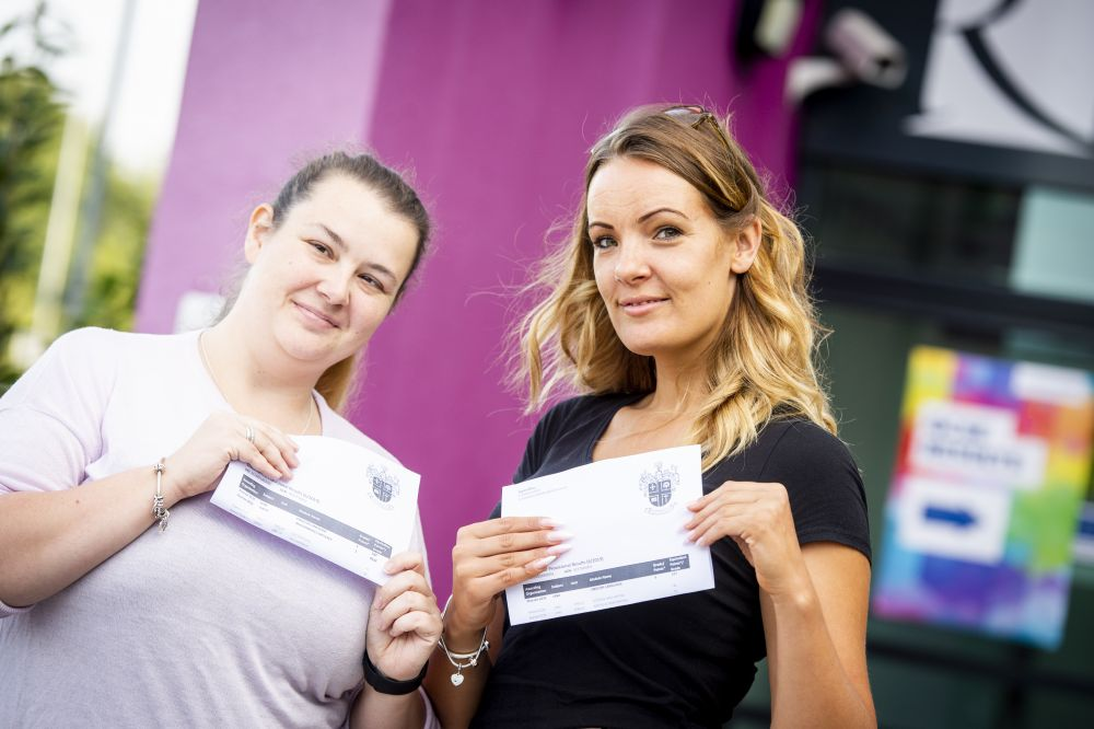 GCSE success at Loughborough College ensures degree is in sight for Jeni