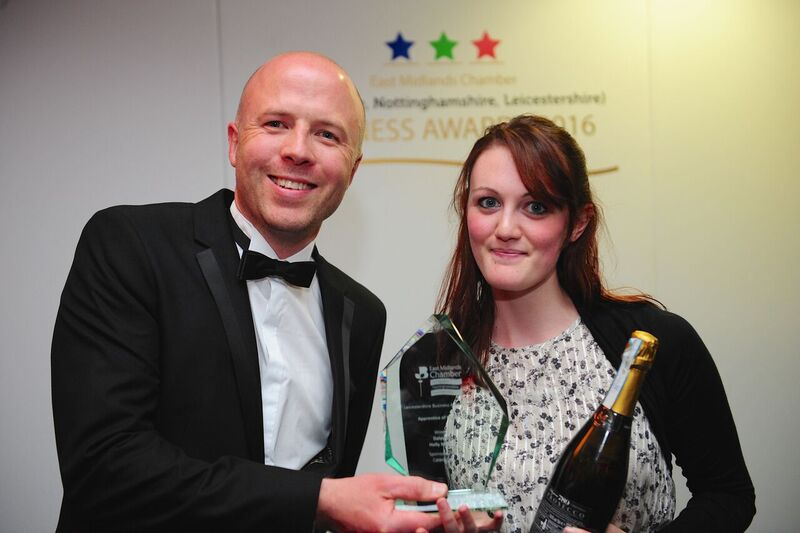 Loughborough College student wins Apprentice of the Year Award
